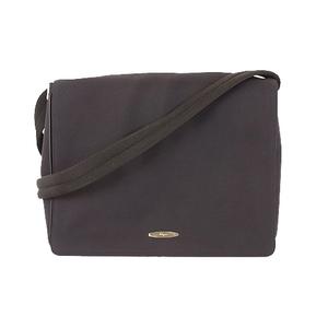 Salvatore Ferragamo Men's Nylon Shoulder Bag Black