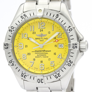 Breitling Superocean Automatic Stainless Steel Men's Sports Watch A17045