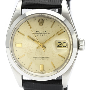Rolex Automatic Stainless Steel Men's Dress Watch 1500
