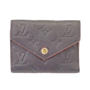 ルイヴィトン 三つ折り財布 モノグラムアンプラント ポルトフォイユヴィクトリーヌ M64577
