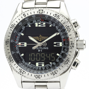 Breitling B-1 Quartz Stainless Steel Men's Sports Watch A68362