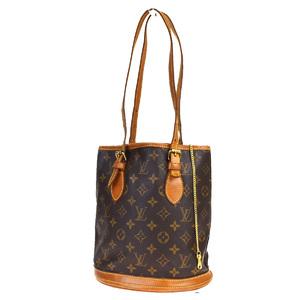 Louis Vuitton Monogram Bucket PM M42238 Shoulder Bag Monogram