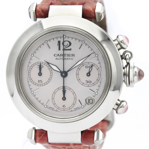 Cartier Pasha Automatic Stainless Steel Women's Dress Watch W3106599
