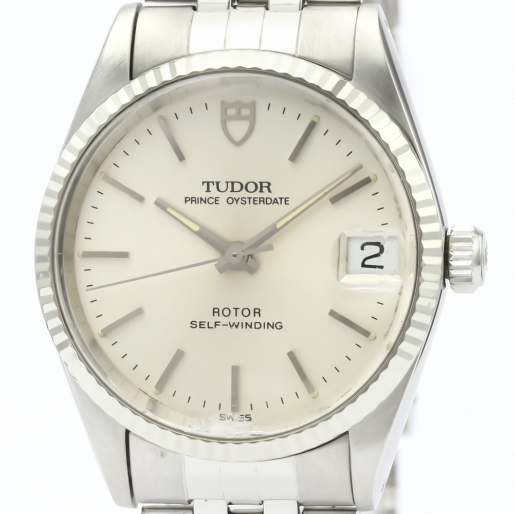 Tudor Princess Oyster Date Automatic Stainless Steel Men's Dress Watch 72034