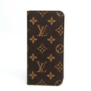 ルイ・ヴィトン(Louis Vuitton) モノグラム 手帳型/カード入れ付きケース iPhone 6 Plus 対応 マロン IPHONE 6+・フォリオ M61423