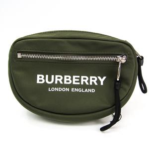 バーバリー(Burberry) CANNON ML 8014524 ユニセックス ナイロン,キャンバス ウエストバッグ ブラック,カーキ