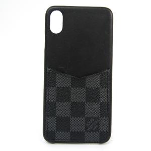 ルイ・ヴィトン(Louis Vuitton) ダミエ・グラフィット IPHONE・バンパー XS Max N60206 ダミエグラフィット バンパー iPhone XS Max 対応 ダミエ・グラフィット,ノワール