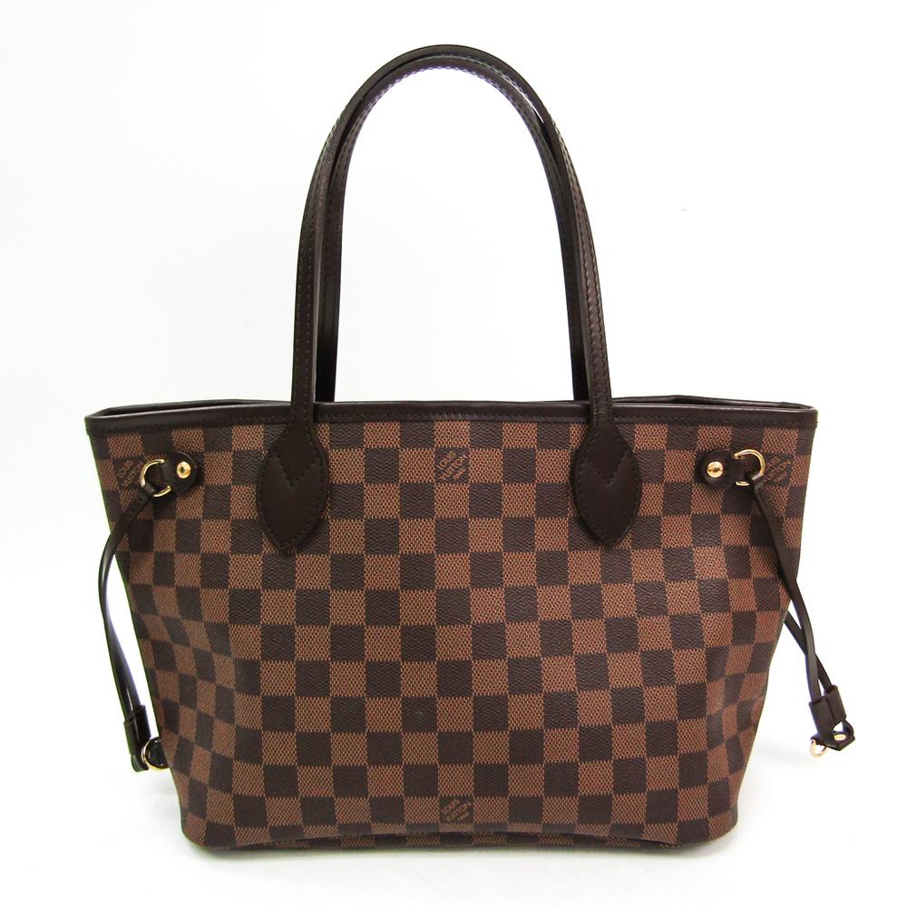 Louis Vuitton Damier Neverfull PM N51109 Women's Tote Bag Ebene
