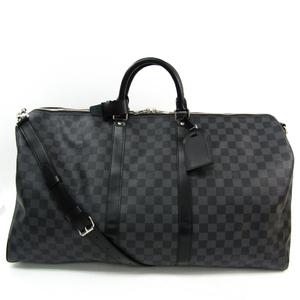 ルイ・ヴィトン(Louis Vuitton) ダミエ・グラフィット キーポル・バンドリエール N41413 メンズ ボストンバッグ ダミエ・グラフィット