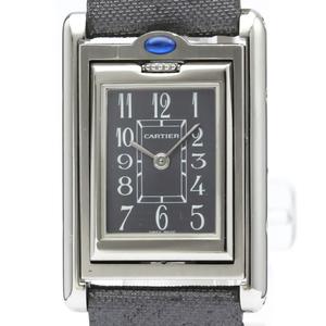 Cartier Tank Basculante Quartz Stainless Steel Women's Dress Watch W1016830