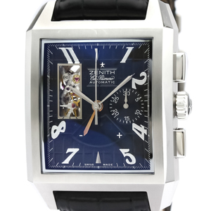 Zenith Grande Port Royal Open Automatic Stainless Steel Men's Sports Watch 03.0550.4021