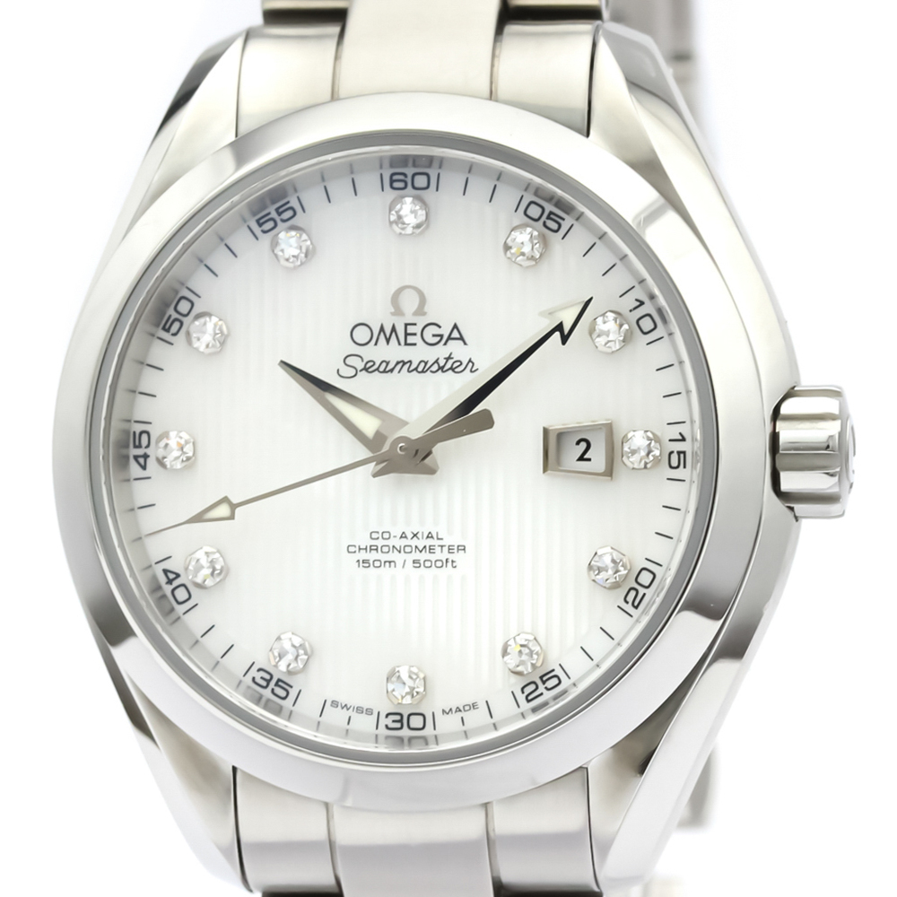 Omega Seamaster Automatic Stainless Steel Women's Dress Watch 231.10.34.20.55.001