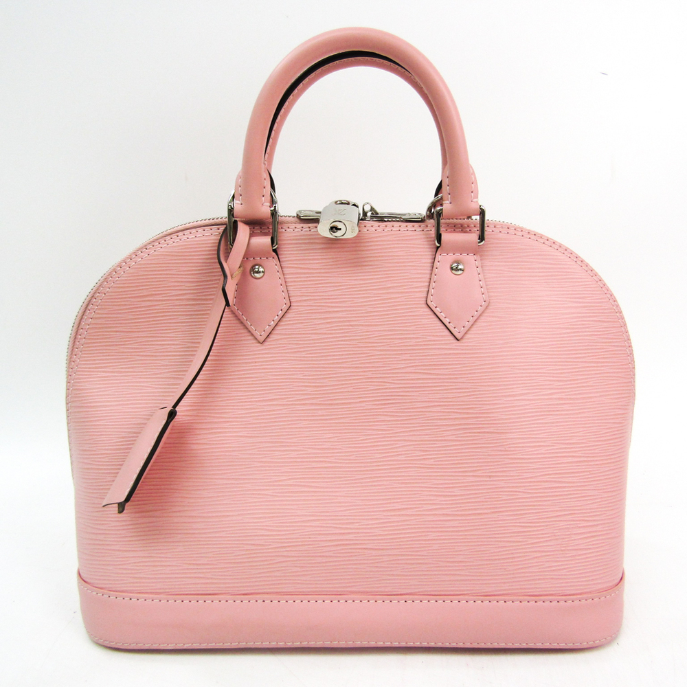 Louis Vuitton Epi Alma PM M41323 Handbag Rose Ballerine