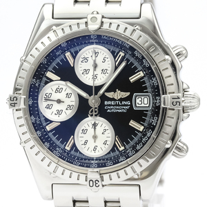 【BREITLING】ブライトリング クロノマット ステンレススチール 自動巻き メンズ 時計 A13050.1