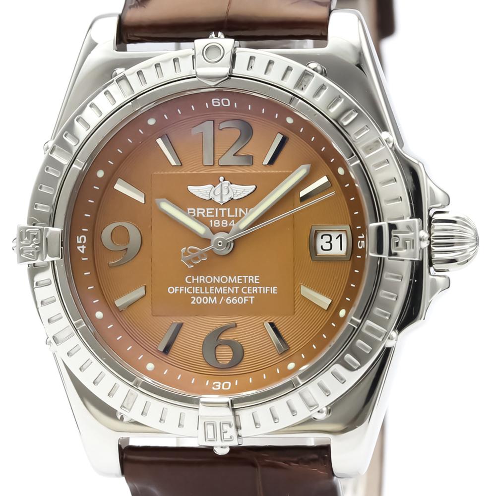 Breitling Callisto Quartz Stainless Steel Women's Dress Watch A77346