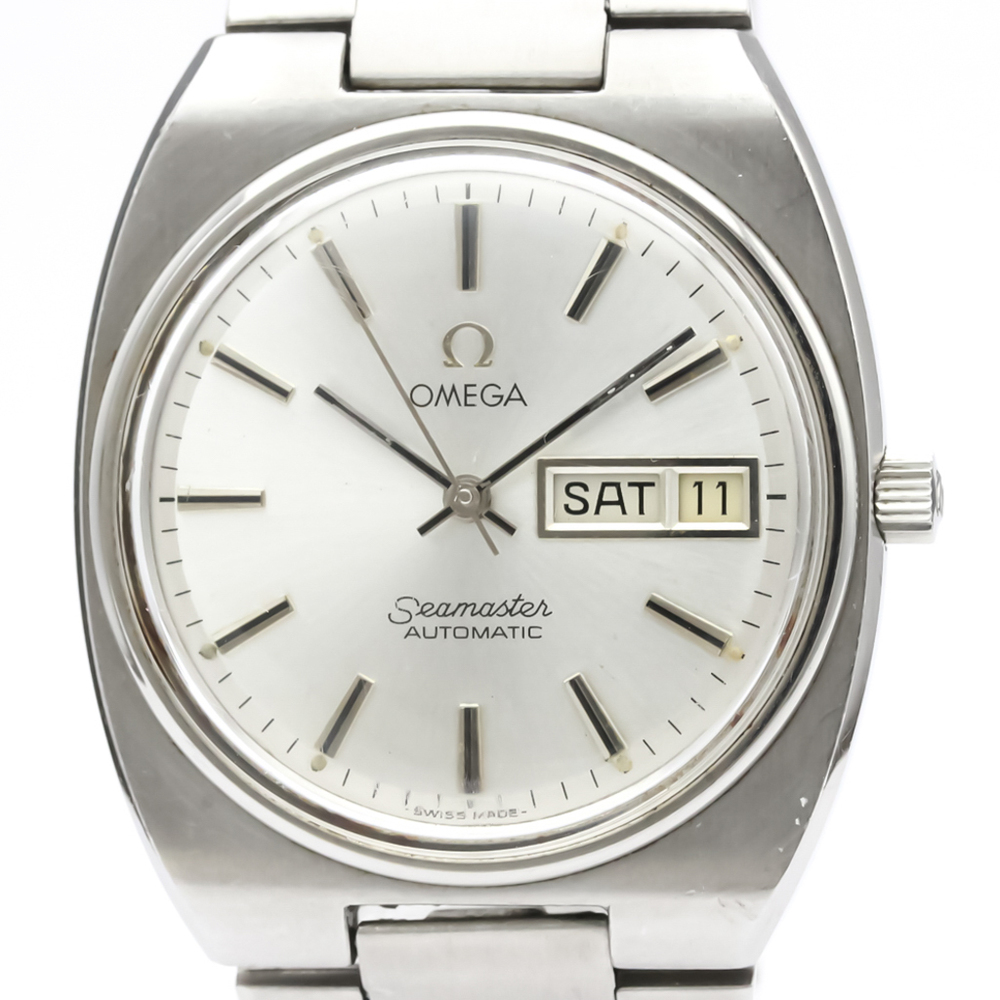 OMEGA Seamaster Cosmic Stainless Steel Automatic Mens Watch 166.0216