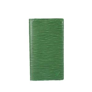 ルイヴィトン 手帳カバー エピ アジェンダポッシュ R20524 ボルネオグリーン