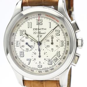 Zenith Class Mechanical Stainless Steel Men's Dress Watch 01.0500.420