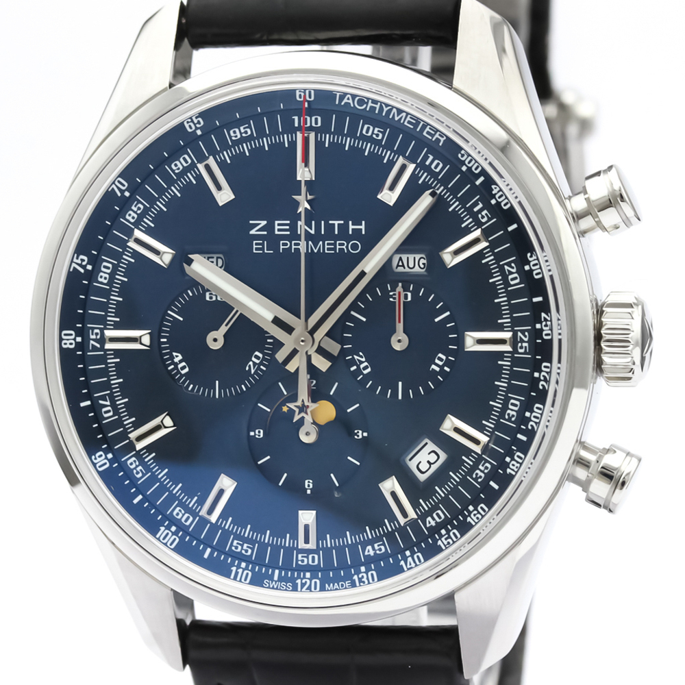 Zenith El Primero Automatic Stainless Steel Men's Sports Watch 03.2097.410