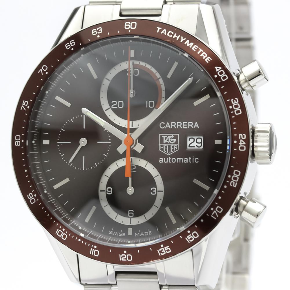 TAG HEUER Carrera Chronograph Steel Automatic Watch CV2013