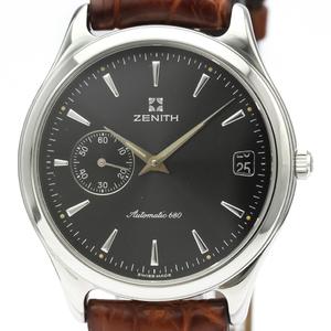 Zenith Elite Automatic Stainless Steel Men's Dress Watch 90/01.0040.680