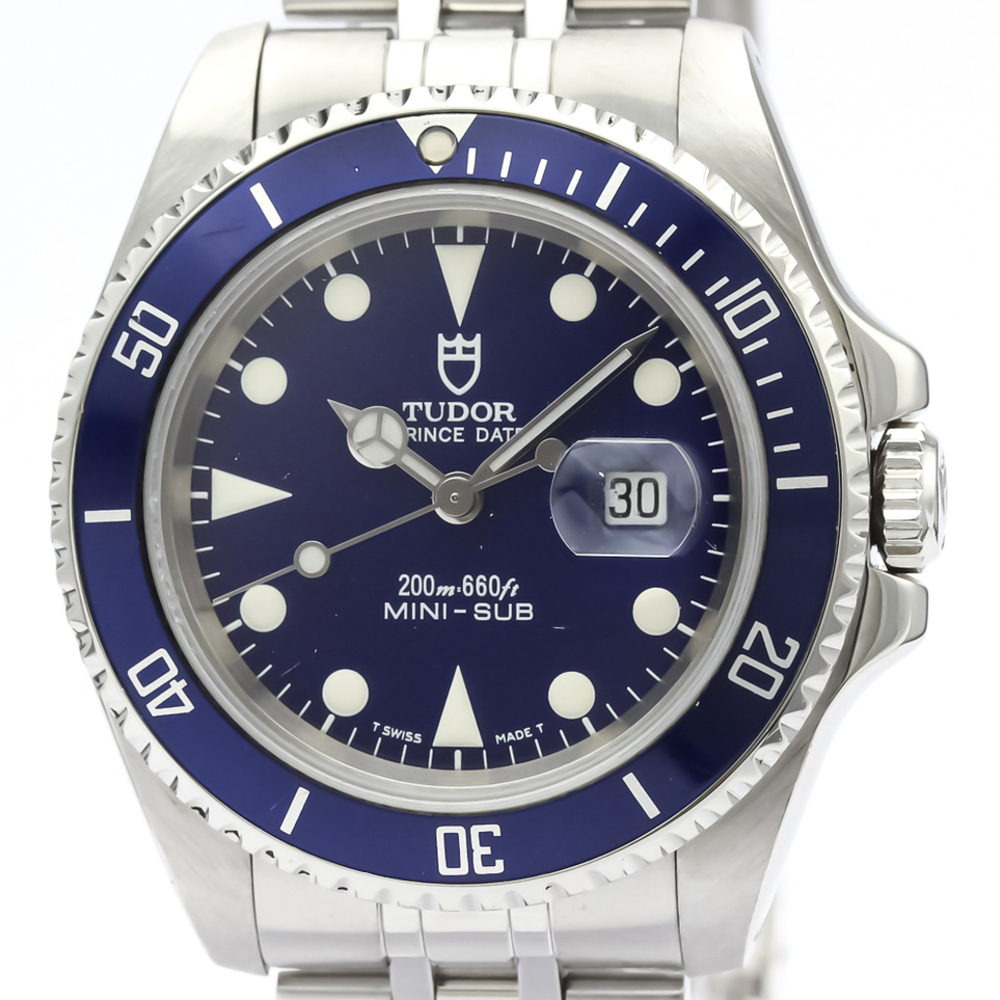 Tudor Mini Sub Automatic Stainless Steel Unisex Sports Watch 73190