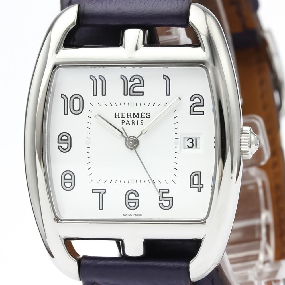 Hermes Cape Cod Quartz Stainless Steel Men's Dress Watch CT1.710