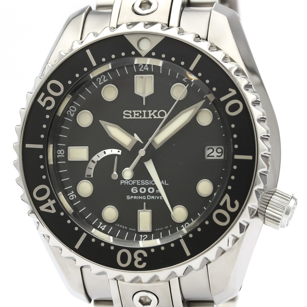 Seiko Grand Seiko Spring Drive Titanium Men's Sports Watch SBDB001(5R66-0AD0)