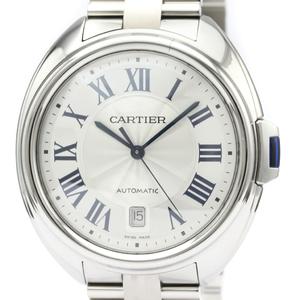 Cartier Clé De Cartier Automatic Stainless Steel Men's Dress Watch WSCL0007