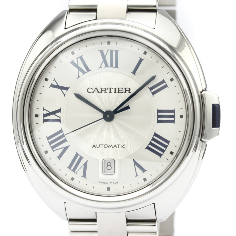 Cartier Clé De Cartier Automatic Stainless Steel Men's Dress Watch WSCL0007