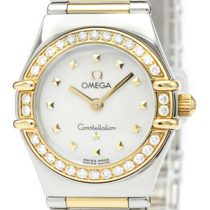 Omega Constellation Quartz Stainless Steel,Yellow Gold (18K) Women's Dress Watch 1365.71