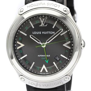 Louis Vuitton Fifty Five Automatic Stainless Steel Men's Dress Watch Q6D30