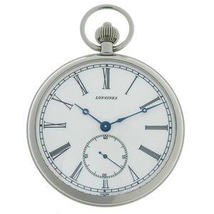 LONGINES Pocket Watch Steel Hand-Winding Mens L7.022.4?