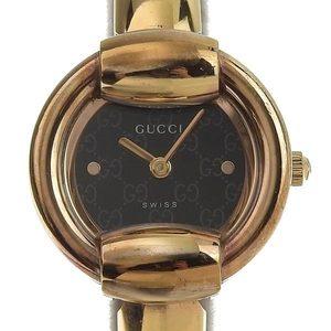 GUCCI Gold Plated Quartz Ladies Watch 1400L