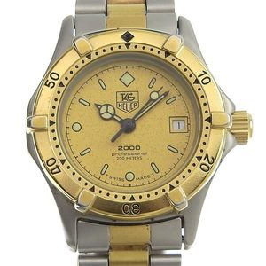 TAG HEUER 2000 Professional Gold Plated Steel Ladies Watch 964.008