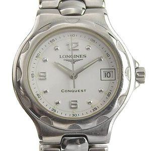 LONGINES Conquest Stainless Steel Quartz Ladies Watch L1.131.4