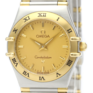Omega Constellation Quartz Stainless Steel,Yellow Gold (18K) Women's Dress Watch 1372.10