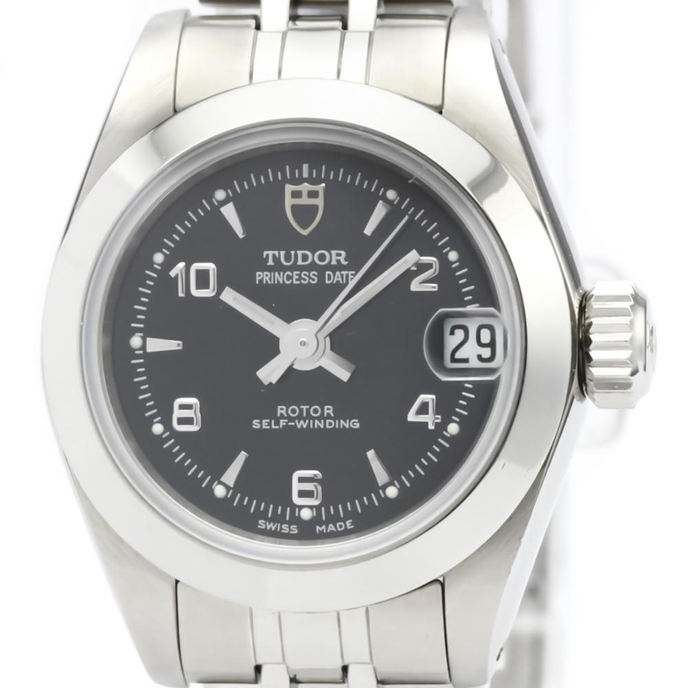 Tudor Princess Date Automatic Stainless Steel Women's Dress Watch 92500