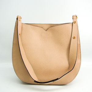 Valextra Women's Leather Shoulder Bag Beige Pink