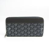 ゴヤール(Goyard) APMZIP GM ユニセックス レザー,コーティングキャンバス 長財布(二つ折り) グレー,ホワイト