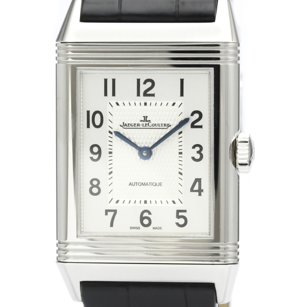 Jaeger LeCoultre Reverso Automatic Stainless Steel Men's Dress Watch 214.8.S5
