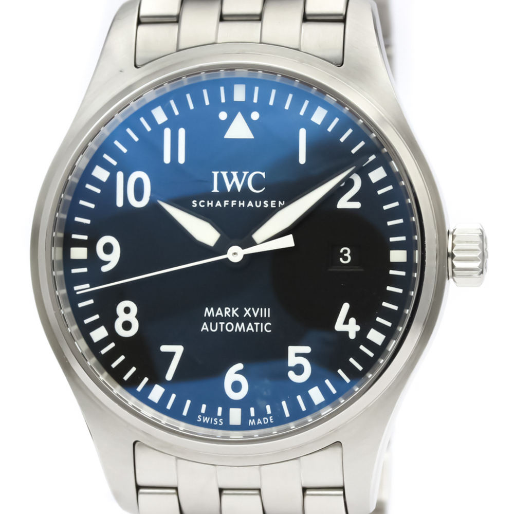IWC Pilot Watch Automatic Stainless Steel Men's Sports Watch IW327011