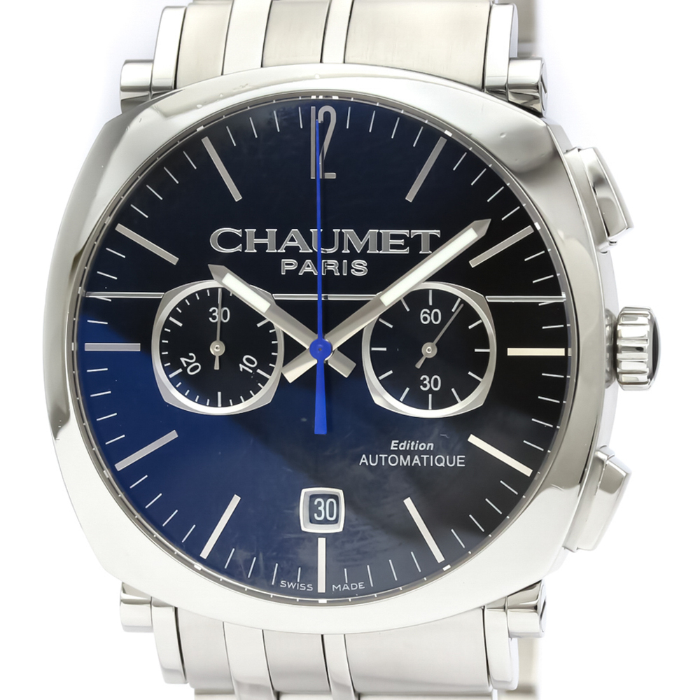 Chaumet Dandy Automatic Stainless Steel Men's Dress Watch W11690-30A