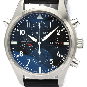IWC Pilot Watch Automatic Stainless Steel Men's Sports Watch IW377801