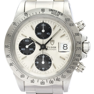 Tudor Chrono Time Automatic Stainless Steel Men's Sports Watch 79180