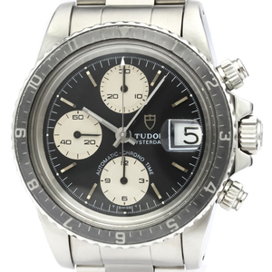 Tudor Chrono Time Automatic Stainless Steel Men's Sports Watch 79170