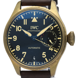 IWC Pilot Watch Automatic Bronze,Titanium Men's Sports Watch IW501005
