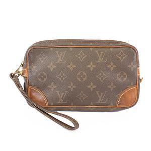 Auth Louis Vuitton Monogram M51827 Men's Clutch Bag