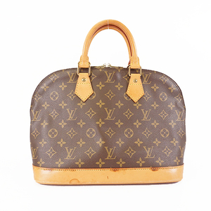 Auth Louis Vuitton Monogram Alma M51130 Women's Handbag