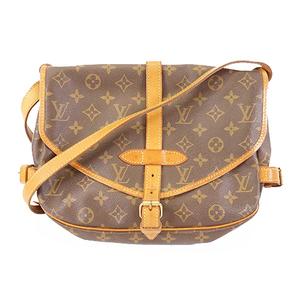 Auth Louis Vuitton Monogram Saumur 30 M42256 Women's Shoulder Bag